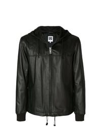 Les Hommes Urban Hooded Biker Jacket