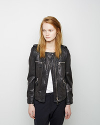 Etoile Isabel Marant Isabel Marant Toile Kady Leather Jacket