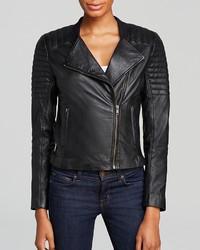 Trina Turk Jacket Camila Leather Moto
