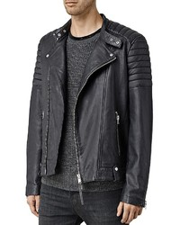 AllSaints Jasper Leather Slim Fit Biker Jacket