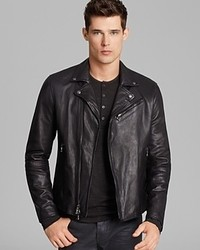 John Varvatos Luxe Leather Moto Jacket