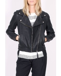 Just Female Came Leather Jacket