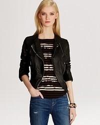 Karen Millen Jacket Leather Biker