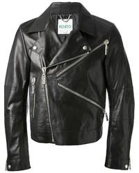 Kenzo K Zipped Biker Jacket