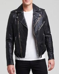 Diesel L Uirok Vintage Leather Jacket