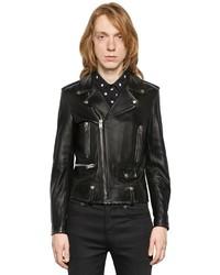 Saint Laurent L01 Classic Leather Biker Jacket