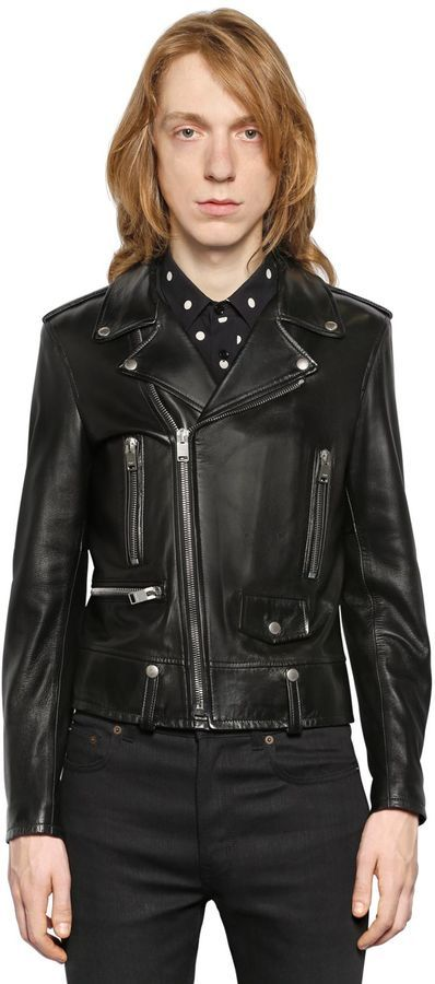 b6677688 $4,990, Saint Laurent L01 Classic Leather Biker Jacket