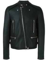 Lanvin Round Neck Biker Jacket