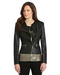 Gibson Latimer Faux Leather Moto Jacket
