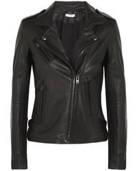 IRO Leather Biker Jacket Black
