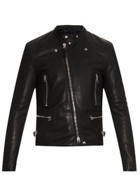Lanvin Leather Biker Jacket
