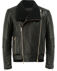 Leather biker jacket medium 4423874