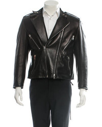 Saint Laurent Leather Biker Jacket