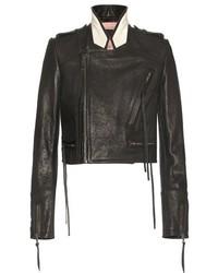 Haider Ackermann Leather Biker Jacket