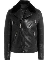 Neil Barrett Leather Biker Jacket