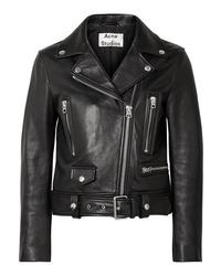Acne Studios Leather Biker Jacket