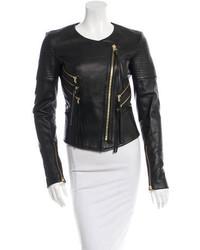 Thomas Wylde Leather Biker Jacket W Tags