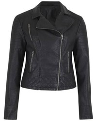 B.young Leather Look Jacket