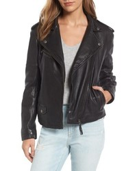 Treasure & Bond Leather Moto Jacket