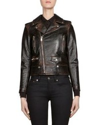 Saint Laurent Lo1 Leather Moto Jacket