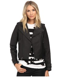 Marc by Marc Jacobs Matte Biker Leather Jacket