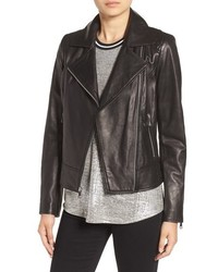 Marc new york by nappa leather moto jacket medium 757525
