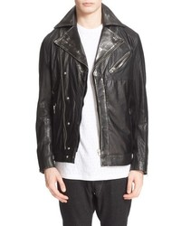 Drifter Maverick Leather Moto Jacket