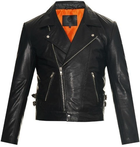 ... Black Leather Biker Jackets McQ by Alexander McQueen Mcq Alexander  Mcqueen Leather Biker Jacket ... e5359314f51