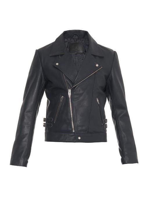 4a08becc48c81 ... McQ by Alexander McQueen Mcq Alexander Mcqueen Leather Biker Jacket ...