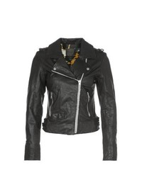 Mein Liebling Keri Leather Jacket Black