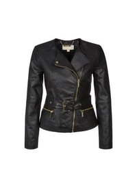 MICHAEL Michael Kors Michl Michl Kors Leather Jacket Black