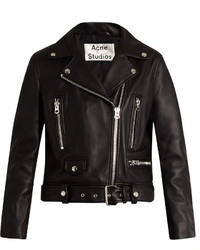 Acne Studios Mock Leather Biker Jacket
