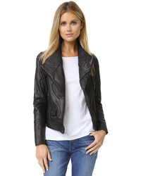 Vince Moto Leather Jacket