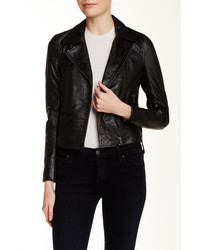 Muu Baa Muubaa Gulrro Genuine Leather Biker Jacket
