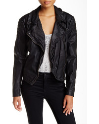 Muu Baa Muubaa Indus Genuine Leather Biker Jacket