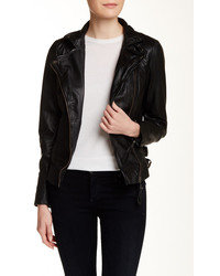 Muu Baa Muubaa Reval Genuine Leather Biker Jacket