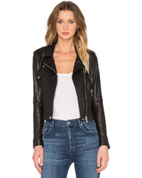 Native Stranger Leather Biker Jacket