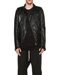 Rick Owens New Stooges Leather Biker Jacket