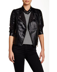 Nicole Benisti Mixed Media Moto Jacket