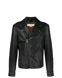 Golden Goose Deluxe Brand Off Centre Zipped Biker Jacket