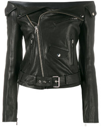 Off shoulder biker jacket medium 3755164