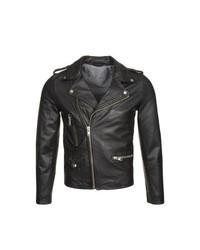 Paul & Joe Leather Jacket Black