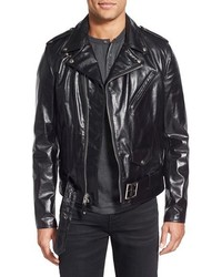 Schott NYC Perfecto Regular Fit Waxy Leather Moto Jacket