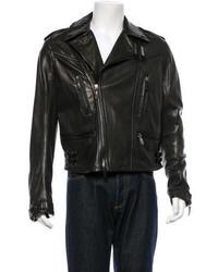Burberry Prorsum Lambskin Moto Jacket W Tags