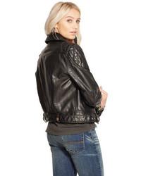 849ca4c64 ... Denim   Supply Ralph Lauren Ralph Lauren Denim Supply Faux Leather  Motorcycle Jacket ...