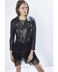 Rebecca Minkoff Harpur Moto Jacket