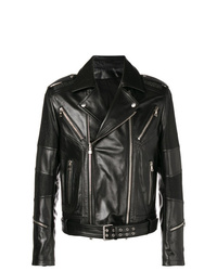 Balmain Ribbed Biker Jacket
