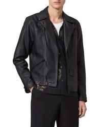 AllSaints Roso Leather Biker Jacket
