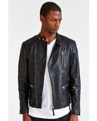 Mackage Ruben Asymmetrical Leather Moto Jacket