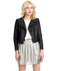 Sam Edelman Vegan Leather Perforated Jacket